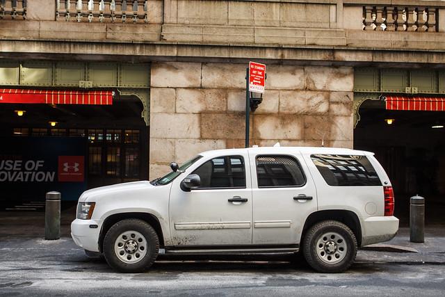white newyork chevrolet car truck gm tahoe police chevy cop mta suv department k9 ppv metropolitantransportationauthority slicktop patrolpackage