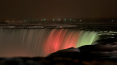 Niagara Falls (FredM.) Tags: longexposure canada colors night niagarafalls nikon niagara falls nightlight nuit couleur chutes d90