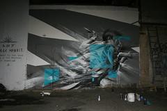 Li Hill X Savage Habbit 3.22.14 Jersey City NJ (20) (Savage Habbit) Tags: streetart newjersey mural jerseycity nj savagehabbit lihill