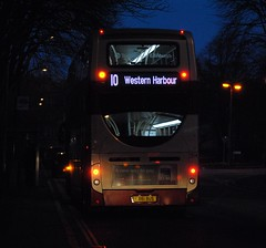 204 (Callum Colville's Lothian Buses) Tags: man edinburgh iron 400 dennis hybrid lothian enviro 400h lothianbuses edinburghbus madderandwhite madderwhite