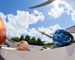 Curves and Spheres (Ray Horwath) Tags: missionspace nikon disney future epcots horwath rokinon d700 worldfuture worlddisneydisney worldwdwdisney worldepcotwalt rokinonlens photosray rokinon8mmultrawideanglef35fisheyelens