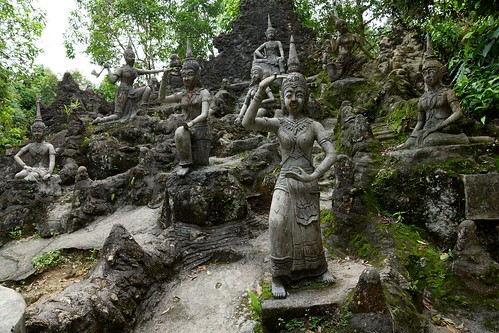 Thailand, Samui, magic garden