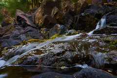 Tuggeranong Creek (RobMacPhotography) Tags: landscapes tuggeranong creek waterfall falls water rock moss canberra act australia lichen sony a6000 rob mac photography waterscape flowing