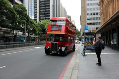 AEC RT 3708 - SYDNEY BUS MUSEUM [2] (FlashFlyGuy) Tags: sydneybusmuseum londonbus queenvictoriabuilding sydney nsw newsouthwales australia