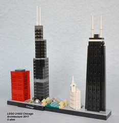 LEGO 21033 Chicago (KatanaZ) Tags: lego21033 chicago illinois usa bigred willistower cloudgate dusablebridge wrigleybuilding johnhancockcenter lego architecture legoarchitectureskylinecollection