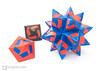 60° Origami Modulars (Maria Sinayskaya) Tags: 10010 15cmdoublesided 3dorigamistar a4 daiyoshiko folded kamipaperduocolorcolor kusudama mariasinayskaya modularorigami origami origamipolyhedron origamispikes origamistar rectangle1sqrt2 rectangle52sqrt3 rectangle57 shortbronzerectangle silverrectangle мариясинайская