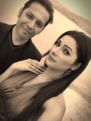 Rohid Ali Khan and Zara Malik SELFIE (Rohid Ali Khan) Tags: rohid ali khan maproductions mapro zara malik adhoorey khuwaab shahid sheikh khalid butt romantic song pehli muhabbat khanpur dam pakistani actor bollywood insight movie