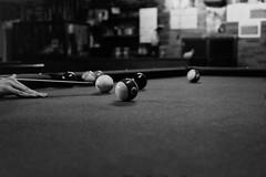 Pool (Mar Cifuentes) Tags: bnw bw blancoynegro noiretblanc pool billiards portrait retrato people art