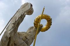 Eagle with a golden ring (afagen) Tags: vienna austria wien schönbrunnpalace schlossschönbrunn schönbrunn gloriette sculpture