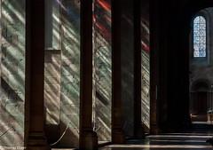 Church Lights (Th.Duerr) Tags: church kirche cathedral fenster window sunshine sonne light mainz dom