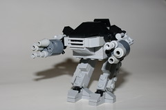 """""""Please put down your weapon. You have twenty seconds to comply."""" (kingkong21) Tags: ed209 omniconsumerproducts ocp"""