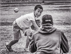 The Pitch (FotoGrazio) Tags: asian child waynegrazio waynesgrazio baseball baseballglove boy children concentration determination focured focus fotograzio kid kidsports painterly people photoeffect pitch pitcher pitching sport thewindup throw throwaball windup youngboy