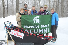 Dog Sledding & Ice Caves of Northern Michigan, January 2017