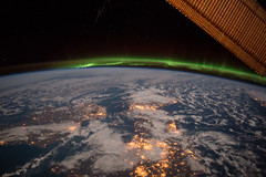 Green Aurora Over Ireland (NASA's Marshall Space Flight Center) Tags: nasa nasas marshall space flight center international station expedition 42 iss
