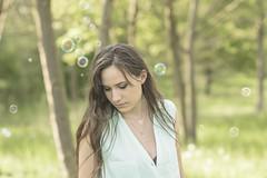 (maxlaurenzi) Tags: women beautiful spring fun relax love romantic nature dreamy portrait woods 105mm green grass sweet italy