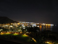 sleepy little town 0545 (dingerd11) Tags: dawn anfi grancanaria refelections tooearly