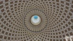 Under the Dome (occhio-x-occhio) Tags: watermark architecture blue gray white morning indoor oxo smooth church brick tuff malta