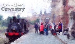 """Steam Gala"" - Oswestry (Mike Cordey) Tags: steamgala shropshire railway steamtrain oswestry"