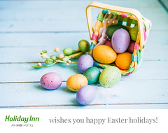 Let Easter be filled with joy and many happy surprises! We wish you peace, hope and new and happy spring memories! (Holiday Inn Sofia) Tags: art beautiful blue celebration decoration food grass green holiday meadow nature season spring symbol white wood background basket close closeup color colorful concept decorative design easter egg event festive happy natural nest pattern polka present rustic seasonal tradition traditional vintage wooden
