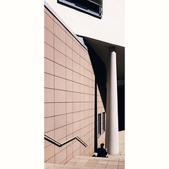 588 (explored) (Stadtromantikerin) Tags: urban mannheim germany geometric geometrie geometry architecture colorfineart stairs shadow shapes verticality
