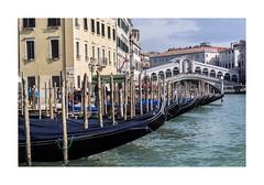Rialto (W Gaspar) Tags: grancanal rialto bridge gondola veneto venezia venice water architecture heritage travel urban italia italy europe europa nikon nikkor v1 1030mm wgaspar photoborder