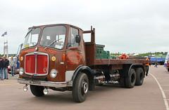 AEC Mammoth MK5 Greenwoods FNN622C 1_1 (Frank Hilton.) Tags: hcvsgaydon13 classic truck lorry eight wheel maudsley aec atkinson albion leyalnd bristol austin outside heavy haulage crane 8 axle