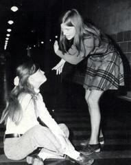 Quarrel (Midnight Believer) Tags: quarrel argument ladies candid indoors retro 1970s