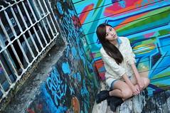 Yibi0033 (Mike (JPG直出~ 這就是我的忍道XD)) Tags: yibi 西門町 d300 model beauty 外拍 portrait 2013 fifi