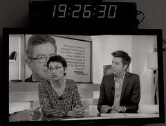 _DSF5044 copie (sergedignazio) Tags: france paris fuji xpro2 émission tv c à vous nathalie arthaud 2 élection présidentielle