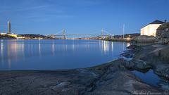 170323 039web1 (Marteric) Tags: nightshot gothenburg sweden göta älv lilla billingen älvsborgsbron blue hour bluehour