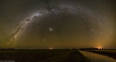 a trillion stars (andrew.walker28) Tags: milky way galaxy stars starlight starscape night long exposure nightscape farmland reflections rainbow st george queensland australia magellanicclouds