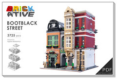 PCB (agata_pakita) Tags: town lego modular buidling city instructions custom
