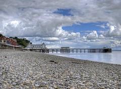 Penarth Beach and Pier (explored) (Ian Gedge) Tags: uk britain wales sea seaside seafront beach coast penarth pier