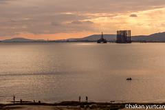 20160925-IMG_6916 (hakanyurtcan) Tags: water sea ship sunset platform offshore baku baki azerbaycan azerbaijan fishing boat caspian