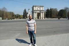 Chisinau, Moldova, April 2017