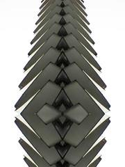 Ties (Ed Sax) Tags: art kunst photokunst edsax hamburg abstract grey grau weis white knochen skelet backbone rückrat