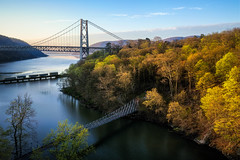 SPRING RENEWAL (pidalaphoto) Tags: clear route9w moring sunrise river popolopenbridge mountains water popolopencreek earlyspring creek hudsonriver fortmontgomery bearmountainbridge hudsonvalley