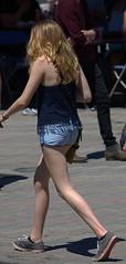 Walk Away (swong95765) Tags: beautiful lady woman female blonde walking leaving going goodbye