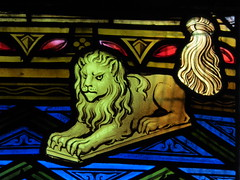 Lion (Aidan McRae Thomson) Tags: worcester cathedral worcestershire stainedglass window victorian hardman johnhardmanpowell