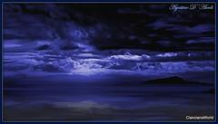 Blue sky...  after the rain - Aprile-2017 (agostinodascoli) Tags: blu cielo mare panorama paesaggio landscape nikon nikkor agostinodascoli cianciana sicilia photoshop photopainting nature texture creative digitalart art
