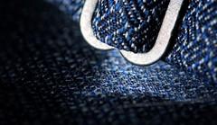 Bow Tie Clip (simondownunder) Tags: macromondays bowtie clothtextile macro textile tie fabric detail blue 70d sigma105 10528 105mm strobist yn560tx yn560iii flashbender