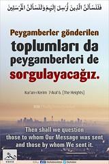 Kerim Kur'an Araf Suresi 6. (Oku Rabbinin Adiyla) Tags: allah kuran islam ayet ayetler ayetullah rahman oku okurabbini muslim
