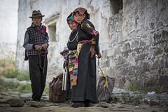 Tibetan people in the Sera Monastery (Tim van Woensel) Tags: tibet tibetan people asia travel monastery sera urban life buddhist buddhism je tsongkhapa gelug university monasteries autonomous region tar portrait prime old religion clothes