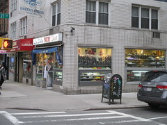 La Delice Pastry Shop - Easter Candy - Chef Mannequin 3187 (Brechtbug) Tags: la delice pastry shop candy store chocolate specific 3rd avenue 27th street kips bay new york city 03302017 nyc mystery magic chef outside mannequin superchef comicbook super hero comic book comics standee halloween stand up stores popup bake bakery easter entrance pop n fresh mannequins dummy wax sculpture standees butler domestic hat uniform 2017 mysterious