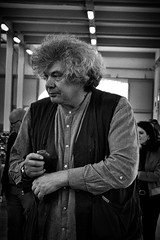cool hair (marcobertarelli) Tags: crazy hair best man wise doctor bw street photography monochrome monochromatic moment marketplace cool fashion