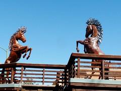 Downtown Santa Fe (honestys_easy) Tags: nm newmexico santafe southwest madrid sculpture