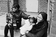 R2-044-20A (David Swift Photography Thanks for 21 million view) Tags: davidswiftphotography philadelphia southwestphiladelphia family children babies candidportrait 35mm filmportraits film ilfordxp2 nikonfm2