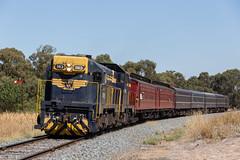 2017-03-18 Steamrail T413-T364 Strathmerton (deanoj305) Tags: strathmerton victoria australia au steamrail goulburn valley explorer t413 t364 tocumwal line vr