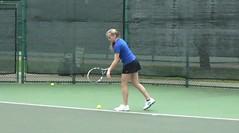 Kirsten Tennis Video Clip 1 3-28-17 (Richard Wayne Photography) Tags: district finals kirsten tennis video 2017 waco