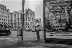 DR150904_1297D (dmitryzhkov) Tags: passenger stop bus trolley look looks motion movement walk walker walkers pedestrian pedestrians sidewalk day one woman women lady sony alpha black blackandwhite bw monochrome white bnw blacknwhite art city europe russia moscow documentary journalism street streets urban candid life streetlife citylife outdoor outdoors streetscene close scene streetshot image streetphotography candidphotography streetphoto candidphotos streetphotos moment light shadow people citizen resident inhabitant person portrait streetportrait candidportrait unposed public face faces eyes